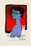 Nuit du Rotary Collectable Print by Jean Colin