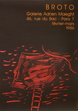 Expo galerie Maeght 86 Collectable Print by José Manuel Broto