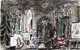 Carnet de Californie 01 Impressão colecionável por Pablo Picasso