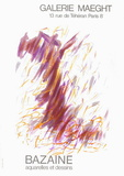 Expo Galerie Maeght 68 Samlertryk af Jean Bazaine