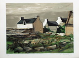 Hameau breton Collectable Print by Georges Laporte