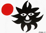 Le Soleil Et La Lune Collectable Print by Alexander Calder