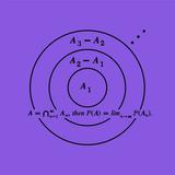 Planche mathématique 08 Edição limitada por Bernar Venet