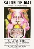 Expo 78 - Salon de Mai Collectable Print by Hugh Weiss