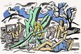 Partie De Campagne Impressão colecionável por Fernand Leger