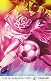 Copa del Mundo de Futbol 82 Collectable Print by Jacques Monory