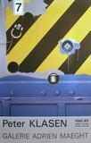 Expo 83 - FIAC Galerie Maeght Samlarprint av Peter Klasen