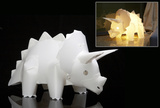 Triceratops DIY Dinosaur Puzzle Light Set Puzzle Lamp