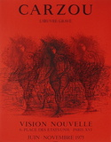 Expo 75 - Vision Nouvelle I Sammlerdrucke von Jean Carzou