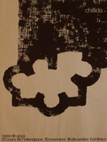 Expo 83 - Casa de Goya Collectable Print by Eduardo Chillida