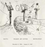 Expo Walker Art Center Impressão colecionável por Roberto Matta