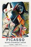 Expo 72 - Musée Dynamique Dakar Eksklusivudgaver af Pablo Picasso