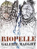 Expo 74 - Galerie Maeght Samletrykk av Jean-Paul Riopelle