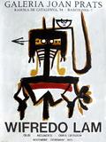 Expo 76 - Galeria Joan Prats Samlertryk af Wilfredo Lam