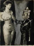 Verve - Femme et peintre I Impressão colecionável por Pablo Picasso