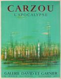 Expo 57 - Galerie David et Garnier Sammlerdrucke von Jean Carzou