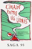 Expo 136 - Saga 93 Samlartryck av Pierre Alechinsky