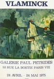 Expo Galerie Pétridès Collectable Print by Maurice De Vlaminck