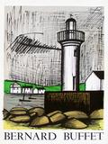 Expo 83 - Paysages Samlarprint av Bernard Buffet