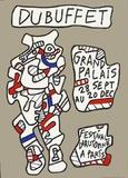 Festival D'Automne Impressão colecionável por Jean Dubuffet