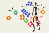 Verve - La Négresse Samletrykk av Henri Matisse