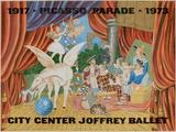 Expo 73 - City Center Joffrey Ballet Edições especiais por Pablo Picasso