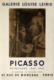 Expo 64 - Galerie Louise Leiris Collectable Print by Pablo Picasso