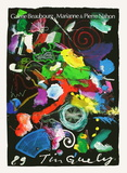 Expo 89 Galerie Beaubourg Collectable Print by Jean Tinguely