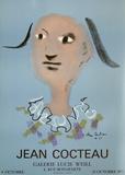Expo 75 - Galerie Lucie Weill Samlartryck av Jean Cocteau