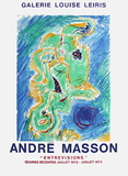 Expo Galerie Louise Leiris Samlertryk af André Masson