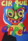 Cirque Impressões colecionáveis por Karel Appel
