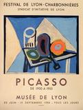Expo 53 - Musée de Lyon Edições especiais por Pablo Picasso