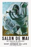 Expo 70 - Salon de Mai Impressão colecionável por Pablo Picasso