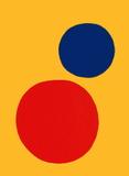 Derrier le Mirroir, no. 201: Champ jaune II Samletrykk av Alexander Calder