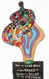 Niki De Saint Phalle - Expo Galerie Iolas Les Nanas - Premium Baskılar