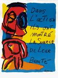 Dans L'Action Samletrykk av Karel Appel