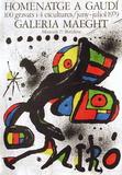 Expo 79 - Homenatge A Gaudi Reproductions de collection par Joan Miró