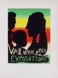 AF 1953 - Exposition Vallauris Láminas coleccionables por Pablo Picasso