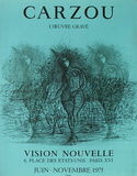 Expo 75 - Vision Nouvelle II Sammlerdruck von Jean Carzou