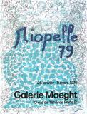 Expo 79 - Galerie Maeght Samlertryk af Jean-Paul Riopelle