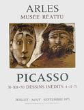 Expo 71 - Musée Réattu II Sammlerdrucke von Pablo Picasso