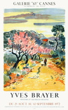 Expo 72 - Galerie 65 Cannes Collectable Print by Yves Brayer