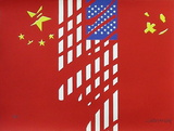 Chine Usa Urss Limited Edition by Gérard Fromanger