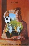 Copa del Mundo de Futbol 82 Sammlerdrucke von Jiri Kolar