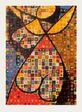 Origines - Fille-fleur Edição limitada por Victor Vasarely