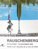 Expo 68 - Musée d'Art Moderne Paris Edições especiais por Robert Rauschenberg