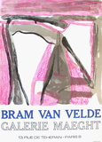 Expo 75 - Galerie Maeght Samletrykk av Bram van Velde