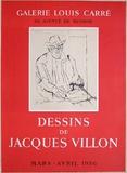 Dessins de Jacques Villon Sammlerdruck von Jacques Villon