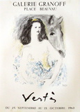 Expo Galerie Granoff Sammlerdruck von Marcel Vertes