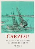Expo 57 - Galerie Les Arts Sammlerdruck von Jean Carzou